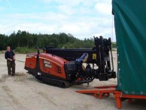 ГНБ установка DitchWitch