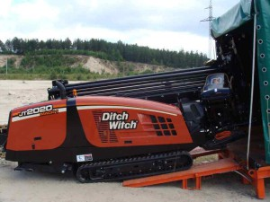 Установка ГНБ JT2020 Mach 1 Ditch Witch
